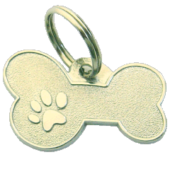 METAL BONE MJAVHOV - pet ID tag, dog ID tags, pet tags, personalized pet tags MjavHov - engraved pet tags online